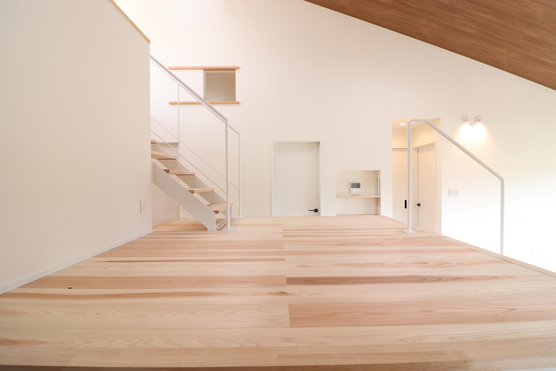 「段床の家」モデルハウス