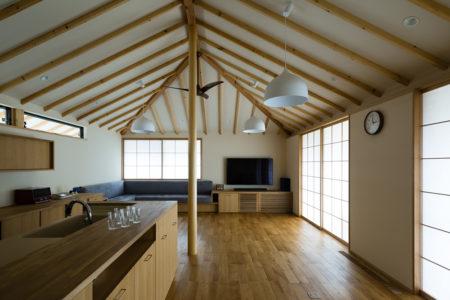 「ガレージのある平屋の家」オープンハウス