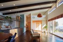 「海を眺められる2階リビングの家」オープンハウス