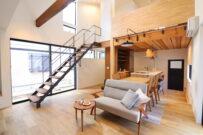 「2階リビング+ビルトインガレージの家」<br/>オープンハウス