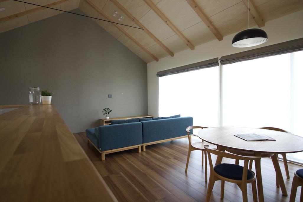 「変形敷地に住む -東金沢の家-」オープンハウス